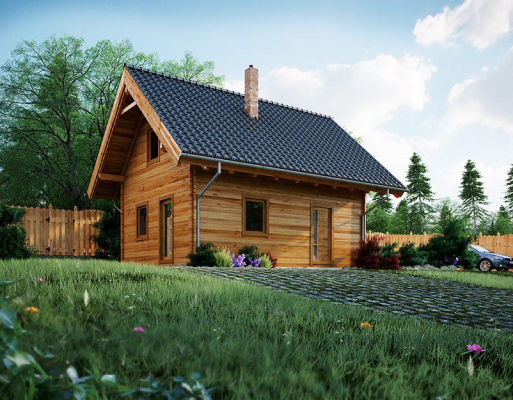Pociťte dotek přírody ve srube a domech Woodlife.