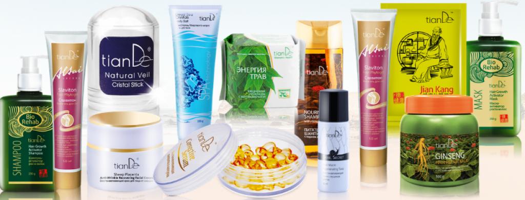 Značka TianDe nabízí široký sortiment kvalitních a přírodních produktů.