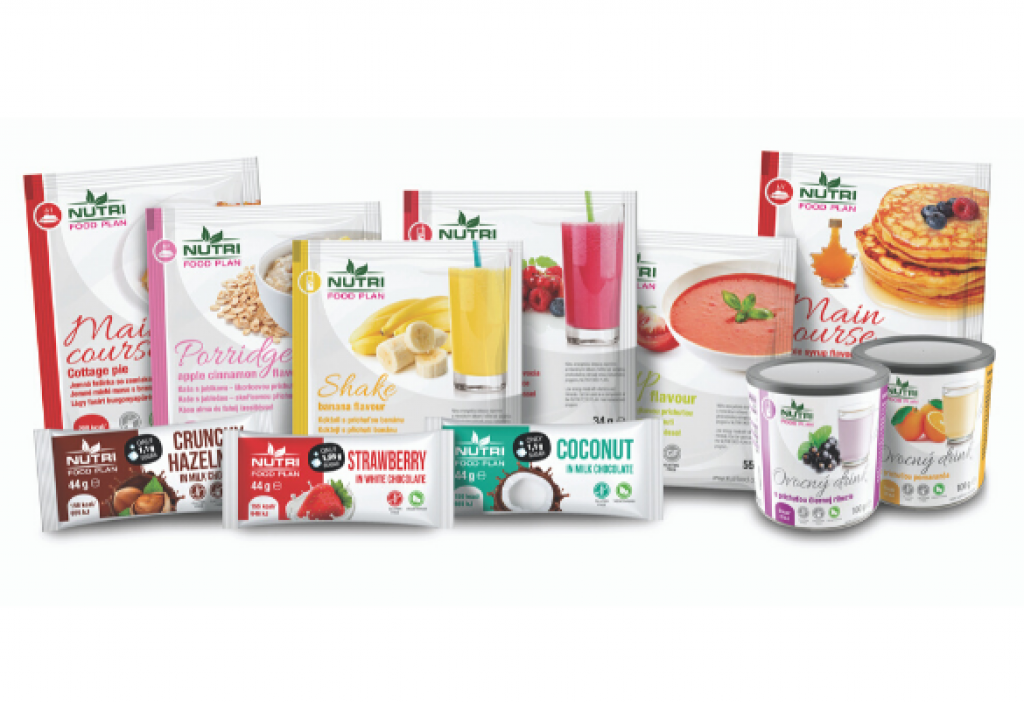 NutriFood nabízí širokou paletu produktů.