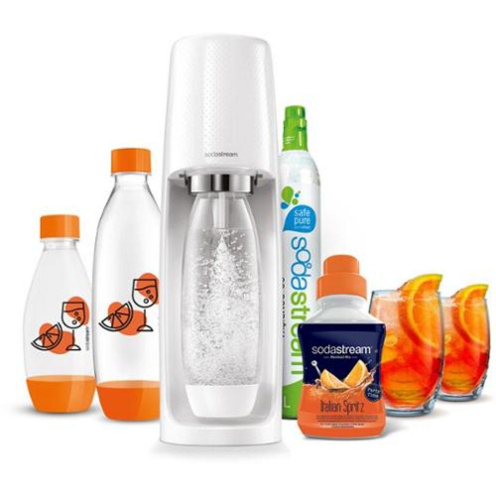 SodaStream skvěle poslouží jako alternativa balených vod.
