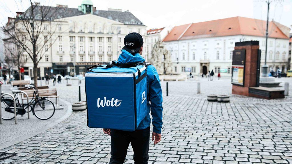 Služba Wolt je dostupná i v Brně